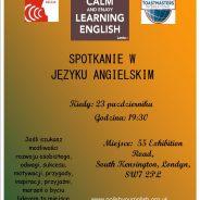Polish your English- spotkanie po Angielsku