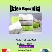 Dzień Ręcznika- 25 maja