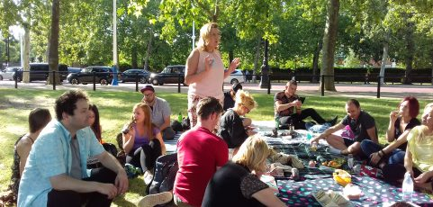 Piknik w St James's Park